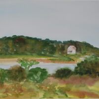 Plein Air Day Middletown - Watercolor